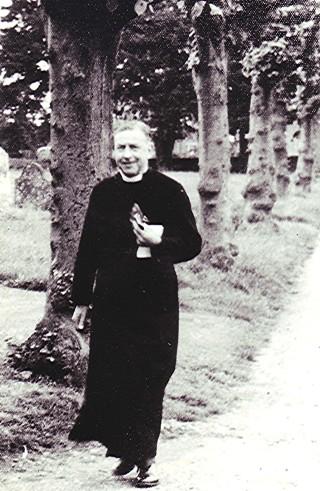 Rev. Harold Fores. 1956. | Geoff Webb