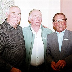 Left to right: Mick O'Hara, Pat O'Connor, Jim Hales. | Geoff Webb