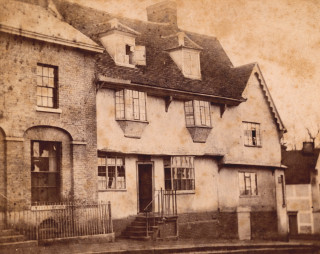 The Half Moon, Bishops Stortford | Hertfordshire Archives & Local Studies, ref D/EGl/65