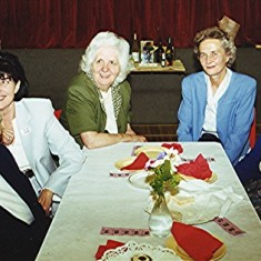 Left to right: Betty Hall, Pam Draper, Jean Harborough, Mary Axtell, Doris Pacey. | Geoff Webb