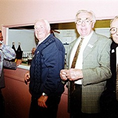Left to right: Pat O'Connor (rear), Barry Smith, 'Jippy' O'Hara, Harry Halsey, Mick Day. | Geoff Webb