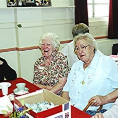 Left to right: Stella Coote, Freda Coote, May Halsey, Muriel Draper. | Geoff Webb