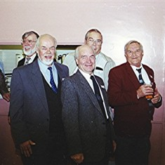 Left to right: Mick Halsey, Fred Woodstock, John Ward, Brian Males, Mick Ward (rear), George Hedges and Bill Mimer | Geoff Webb
