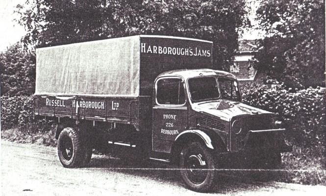 Russell Harborough's Jam Factory lorries | Geoff Webb