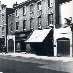 Harding's shop, 1928. | Hertfordshire Archives and Local Studies