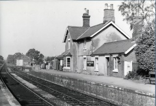 Harpenden East Station, Batford, 1964 | Herts Archives & Local Studies