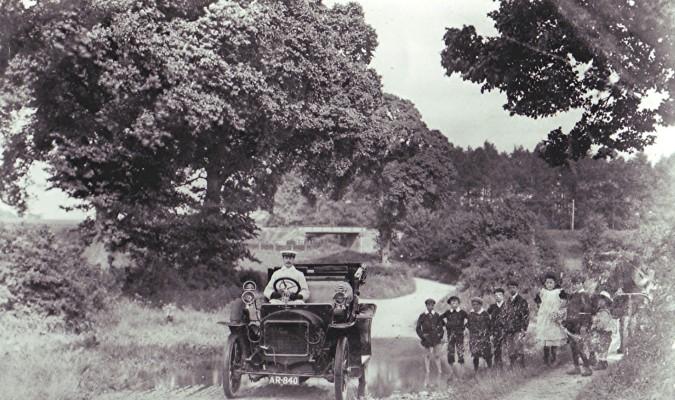 Peake family car, 1910 | Geoff Webb