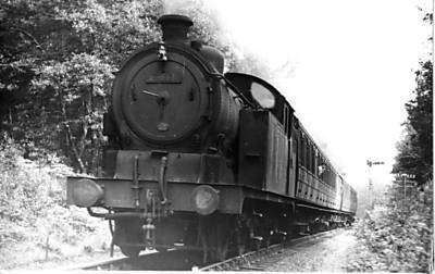 The Hatfield to Luton service near Ayot 4th July 1953
