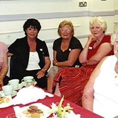Left to right: Jennifer Hawkins, Sheila Hales, Rosemary Stevens, Daphne Waller, Annie Fensom. | Geoff Webb