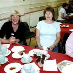 Left to right: Beryl Hedges, Jean Stratton, Jennifer Brett, Beryl Batchelor. | Geoff Webb