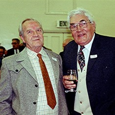 George Hedges (left) and Charlie Collett | Geoff Webb