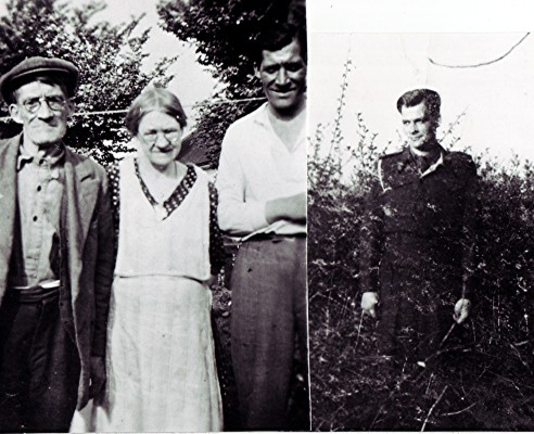 Albert 'Bill' and Margaret 'Maggie' Hedges are seen with their sons Jack and Jim (right). | Geoff Webb