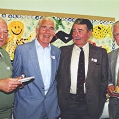 Left to right: Ken Marshall, Ron Henry, Ray Webb, John Dunckley | Geoff Webb
