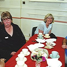 Left to right: Lynn Carter, Jill Lambert, Peggy McLoughlin, Daphne Herring. | Geoff Webb