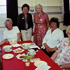 Left to right: Valerie Herring, Pam Ranscombe, Sheila Game, Gwen Knight, Pam Hawkins, Dolly Fox. | Geoff Webb