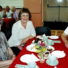 Left to right: Valerie Herring, Pam Hawkins, Pam Ranscombe. | Geoff Webb