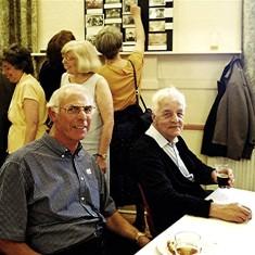 Left to right: Rear: Valerie & Doreen Herring.  Front: Brian Palmer, Tom Belshaw | Geoff Webb