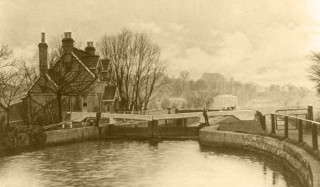 The River at Hertford Lock | Hertfordshire Archives and Local Studies