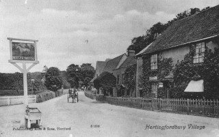 Hertingfordbury village view | Hertfordshire Archives and Local Studies