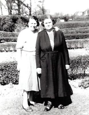 Doris Hewitt and Florence Luck | Geoff Webb