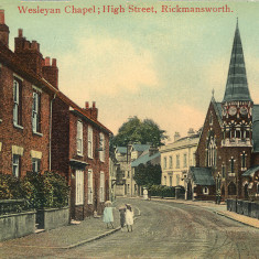 Wesleyan Chapel | Hertfordshire Archives & Local Studies
