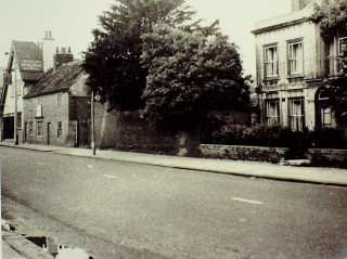 West side of High Street, with the Pauls' house, c 1959 | Hertfordshire Archives & Local Studies