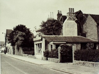 Paul's Nursery, Shop and Home, where Warwick Drive is now, 1948 | Hertfordshire Archives & Local Studies