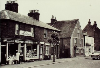 East side, north of Cadmore Lane, c 1959 | Hertfordshire Archives & Local Studies