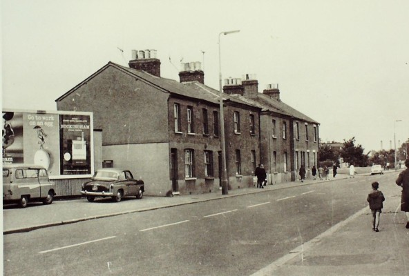 North end of High Street, 1960