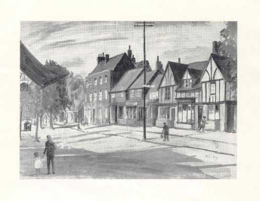 A view of the High Street | Miss Mabel Culley