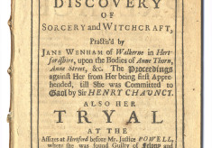 Jane Wenham of Walkern, 1712