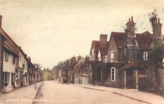 A view of Hitchin Street, c1910. | Hertfordshire Archives and Local Studies