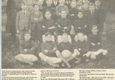 The Hitchin Boys School Football team 1926-7