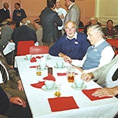 Left to right: John and Harry Hobbs, Dennis Sibley, David Axtell, Darley Webb, Richard Robertson. | Geoff Webb