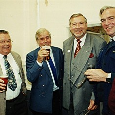 Left to right: John Hobbs, Jim Dalton, Ken Miles, Ray Clarke. | Geoff Webb