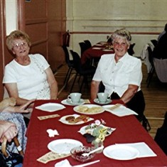 Left to right: Gwynneth Hobbs, Pam Orchard, Pam Ranscombe, 'Bunny' Taylor, Pam Hawkins, Beryl Batchelor. | Geoff Webb