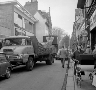 A busy Maidenhead Street