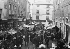 Hertford market in the 1880s