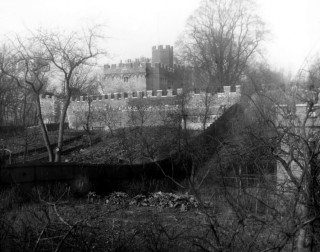 Hertford Castle from Castle St | Hertfordshire Archive & Local Studies