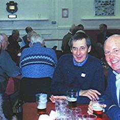 John Smith (left), Brian Halsey (centre) and Bob Humphries.   Geoff Webb