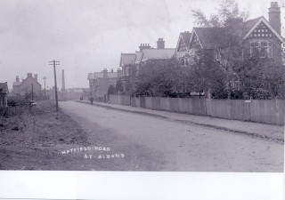 A photograph of Hatfield Road