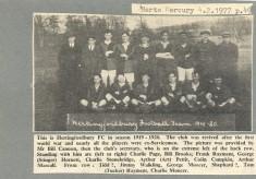 Hertingfordbury FC 1919-1920