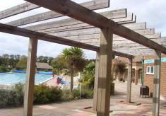 Hitchin swimming pool!