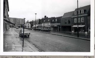 Hoddesdon High Street 1979 | Hertfordshire Archives and Local Studies