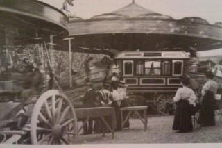 The annual fair in Baldock High Street   Baldock Voices