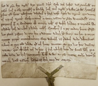 Grant of the Manor of Wymondley | Hertfordshire Archives library collection