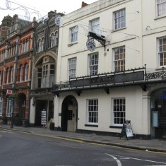 The buildings remain very much the same, but the former Dimsdale Arms has now become Pizza Express. | Fiona MacDonald