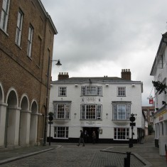 The Bell has been called the Salisbury Arms Hotel since 1800 | Fiona MacDonald
