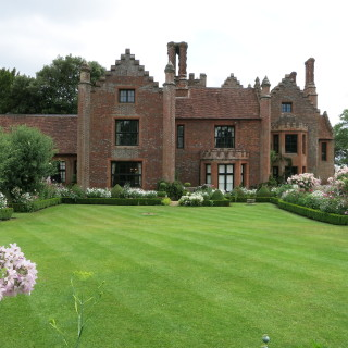 Chenies Manor Rear View | I Fisher