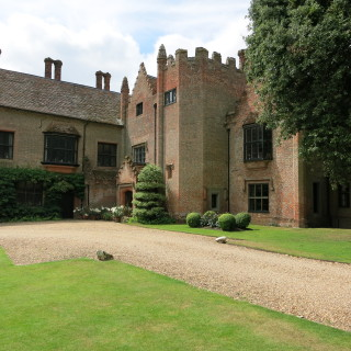 Chenies Manor Front View | I Fisher